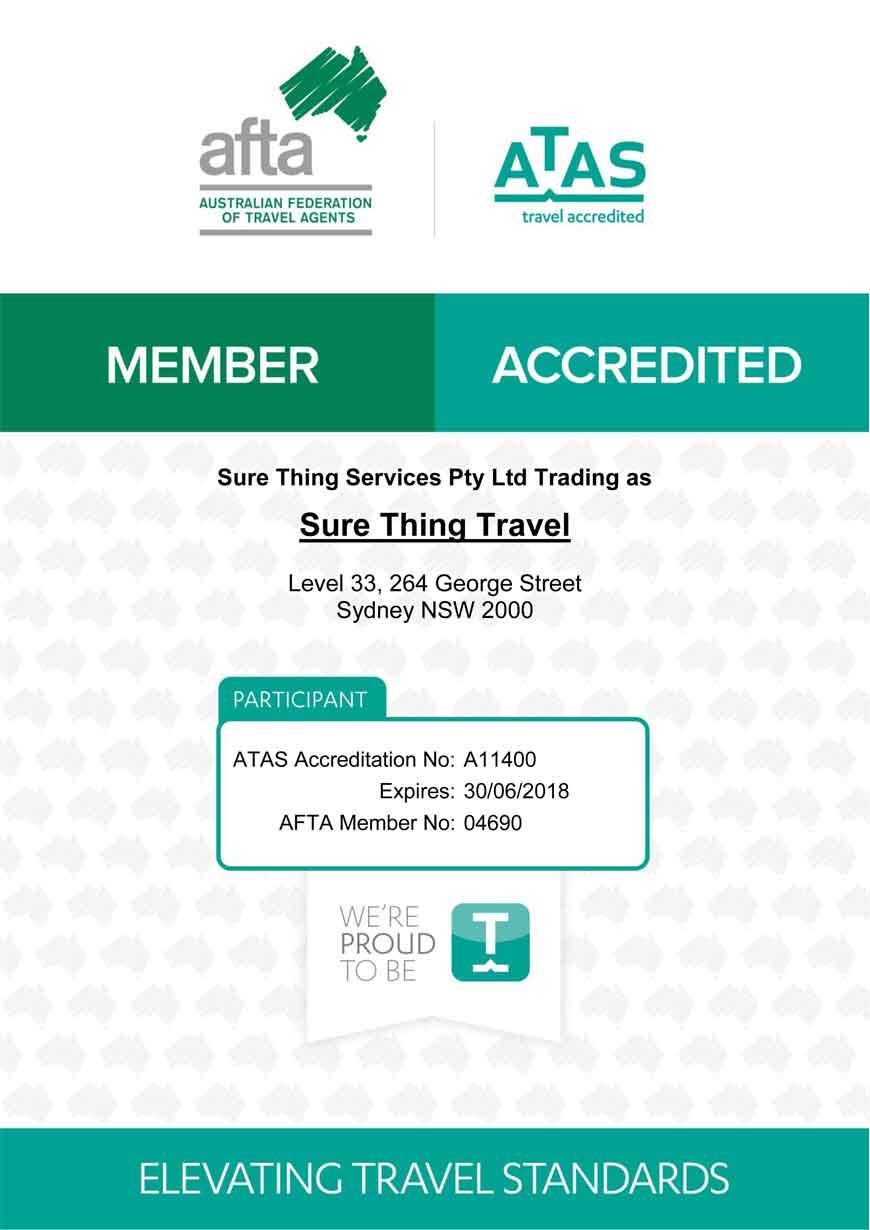 ATAS Accredited
